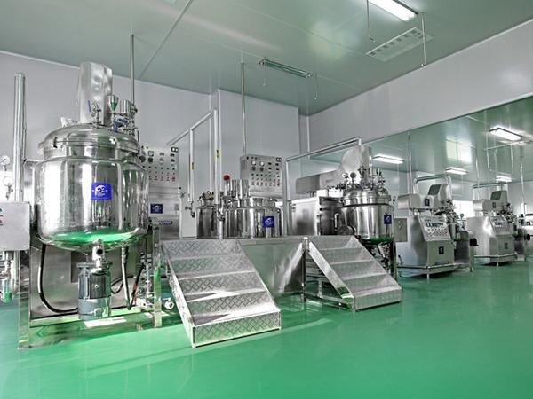 RHJ-B Vacuum Mixing Emulsifying Machine
